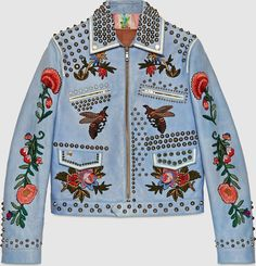 Gucci Embroidered Jacket as seen on Kylie Jenner