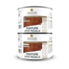 peinture aspect rouille la peinture aspect rouille mauler est le produit id al pour l imitation. Black Bedroom Furniture Sets. Home Design Ideas