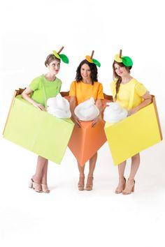 How To Make Pie Slice Costumes   studiodiy.com Chic Halloween, Modern Halloween, Halloween Photos, Halloween Costumes For Girls, Halloween Crafts, Fall Crafts, Burger Costume, Cake Costume, Diy Couples Costumes