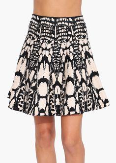 Rorschach Sweater Skirt