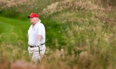Trump touts busy day of meetings – then appears to play golf  The president's Thanksgiving trip to Mar-a-Lago seemed to take a recreational turn, despite his staff's insistence he had 'a full schedule of meetings and calls'