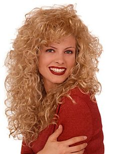 Women Synthetic Wig Long Curly Blonde Halloween Wig Carnival Wig Costume Wig – CAD $ 29.42