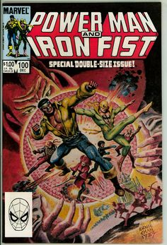 Power Man and Iron Fist 100 (VF/NM 9.0)