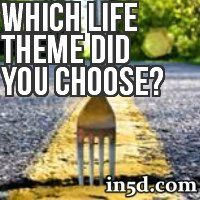 According to Sylvia Brown, everyone chooses a particular 'Life Theme' before incarnating to this planet. This serves as a template for your life path and will provide various challenges along your way. Which Life Theme did YOU choose?