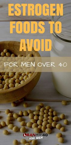 Estrogen foods to avoid. As a man over 40 it's very important to keep our declining testosterone levels as high as possible by avoiding these estrogen producing foods! Diet Plans To Lose Weight, How To Lose Weight Fast, Lose Fat, Health Diet, Health Fitness, Men's Fitness, Health Foods, Health Care, Men Over 40