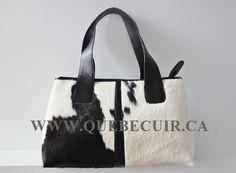 Black and white big cowhide handbag. CA$ 288