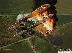 All of Italian Ace Marziale Cerutti's WW1 aerial victories were achieved in the Nieuport 27 whilst serving with the 29a Squadriglia, including this Drachen balloon, his 13th victory on 31st June, 1918. His aircraft carried the letters MIR on the rear fuselage, which stood for Marziale Imperatore Romano (Marziale Roman Emperor), plus a stylised playing card emblem.  Cerutti ended the war with 17 confirmed victories to his credit and was flying again in WW2.