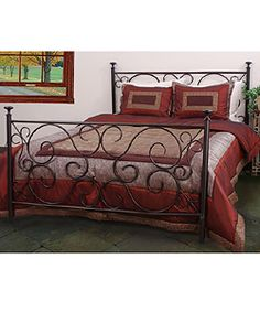 @Overstock - Complete your bedroom decor with this Rosette twin-size bed  This bed combines elegant style and quality craftsmanship  Sturdy piece of furniture features steel constructionhttp://www.overstock.com/Home-Garden/Rosette-Twin-size-Bed/2703103/product.html?CID=214117 $166.49