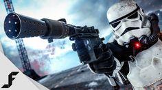The Most OP Gun in Star Wars Battlefront - YouTube