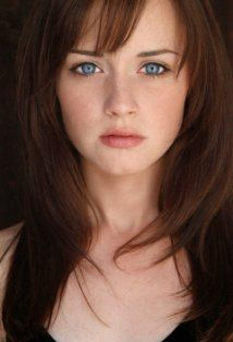 Alexis Bledel...love the eyes.