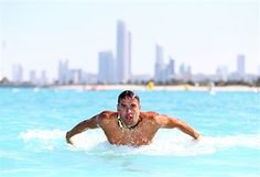 Chad le Clos, FINA Male Swimmer of the Year 2014, in action during the Abu Dhabi Swimming Festival by Daman's ActiveLife at Emirates Palace Hotel on February 28, 2015 in Abu Dhabi, United Arab Emirates.
