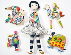 「LINE & COLOR」始まりました / Ryoko Ishii Exhibition