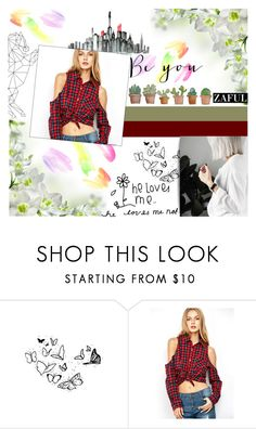 """""""#BeYou"""" by juromi ❤ liked on Polyvore featuring He Loves Me"""