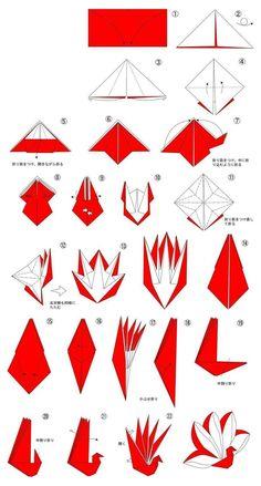 Ideas origami diy kirigami art for 2019 Origami Design, Instruções Origami, Origami Tattoo, Paper Crafts Origami, Diy Paper, Origami Birds, Origami Ideas, Origami Simple, Origami Hearts