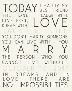 Today I Marry custom wedding canvas Art by Geezees Custom Canvas Wedding Quotes, Wedding Vows, Our Wedding, Dream Wedding, Wedding Ideas, Wedding Venues, Wedding Inspiration, Wedding Signs, Wedding Band