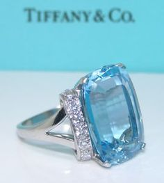 Aquamarine is traditional 19 yr anniversary...guess how long I've been married... ;)