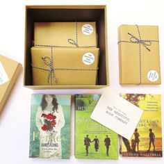 This is such a lovely idea for treating a new mum who likes to read.