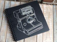 Polaroid guest book album