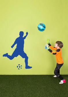 WALL*MANIA muursticker | wall decal #football #soccer #voetbal