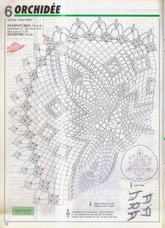 """Photo from album """"Związane serwetki"""" on Yandex. Crochet Angel Pattern, Crochet Doily Diagram, C2c Crochet, Crochet Doily Patterns, Crochet Art, Crochet Round, Crochet Home, Thread Crochet, Filet Crochet"""