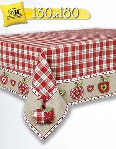 http://www.marketitalia.it/c/161470245612&pid=12 Tovaglia angelica home country collezione mele 130x180 #Italia