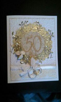 50 anniversary card