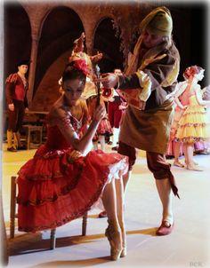 Ekaterina Krysanova as Kitri in Don Quixote Credits to BEK studios