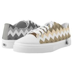 #Cool Mismatched Zigzags Low-Top Sneakers - #giftideas #teens #giftidea #gifts #gift #teengifts