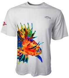 Lion Tennis Tee Short Sleeves Colors: Light Aqua, Light Grey Sizes: S - 2XL