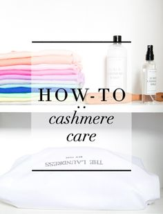 How-To: Cashmere Care | J.Crew x The Laundress