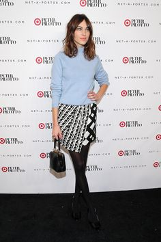 Best Dressed Peter Pilotto for Target Party: Alexa Chung