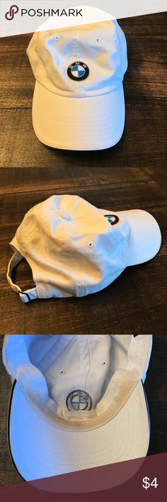 BMW ball cap BMW ball cap.  Has a little make up stain on the inside. Accessories Hats