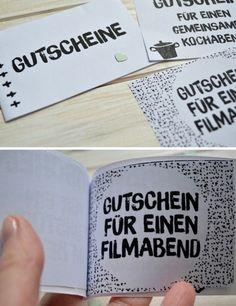 {DIY} Gutscheinbuch zum Valentinstag ©️️goodiys.com