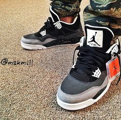 Jordan IV - Fear Pack