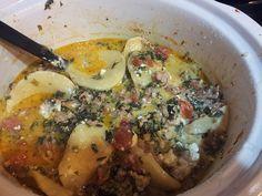 Crockpot Cheese Tortellini