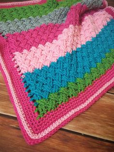 Crochet - Woven Love Blanket Crochet Pattern - #RAC2017