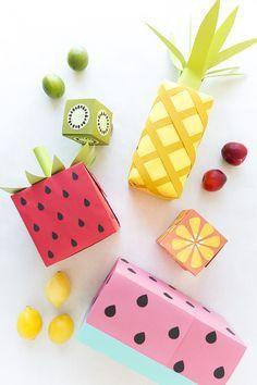 DIY: Wrapping Gifts as Fruits ~ اصنعها بنفسك: تغليف الهدايا على شكل فواكه