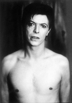 David Bowie, 1980 by Anton Corbijn.