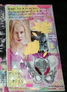 Kelly Kilmer Artist and Instructor: 7 April 2015 Journal Page