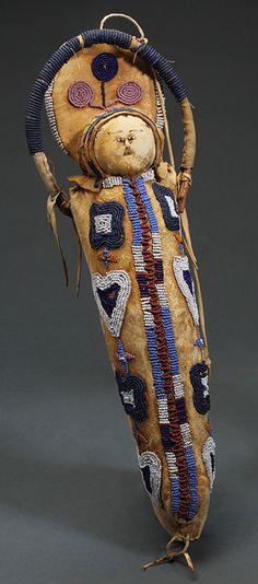 Nez Perce Doll Cradle - c. 1875.