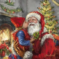 Santa Claus, St. Nick, Father Time, Kris Kringle #Santa ~~ Marcello Corti - XM1821.jpg