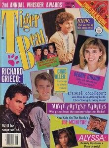 Tiger Beat - I'm sure I had this just because Richard Grieco is on the cover