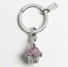 Coach Cupcake Key Chain - All Things Cupcake