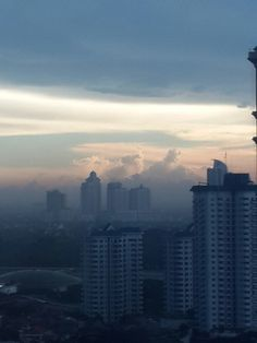 Afternoon Sky in Jakarta