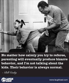 Bill Cosby on parenting