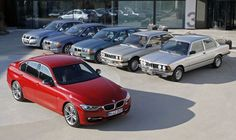 BMW 3 Series entire lineup - a perfect auto evolution.