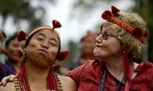 Visit The Hornbill Festival of Nagaland, the festival of festivals! Explore the amazing culture, dances, music, and food of the Naga tribes. Indigenous Knowledge, Western Philosophy, The Guardian, Climate Change, Perspective, Culture, Dance, Couple Photos, Stage