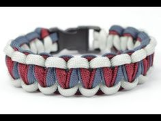 "DIY - Make the ""Twisted Cobra"" Paracord Survival Bracelet - BoredParacord.com - YouTube"