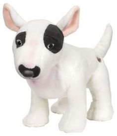 The unique code found on the plush toys can be used on the Official Webkinz Website where you can register ownership, care for and play with your new pet, the Bull Terrier.