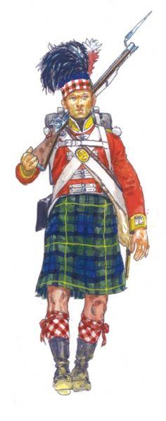 Gordon Highlander (92nd Regiment)---ITALERI - scale modelling since 1962